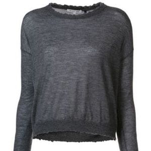 Helmut Lang featherweight cashmere sweater